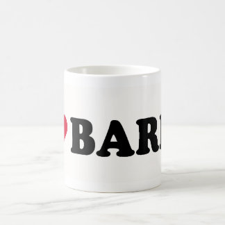 I LOVE BARRY COFFEE MUG
