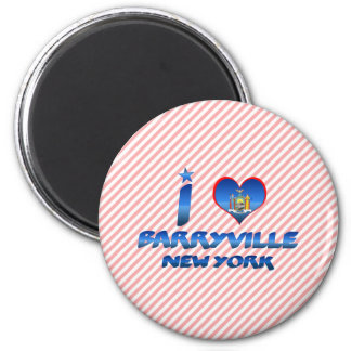 I love Barryville, New York Refrigerator Magnets
