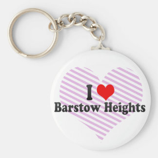 I Love Barstow Heights, United States Key Chains