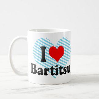 I love Bartitsu Classic White Coffee Mug
