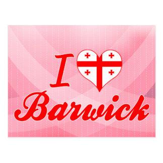 I Love Barwick, Georgia Post Cards
