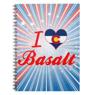 I Love Basalt, Colorado Spiral Notebook