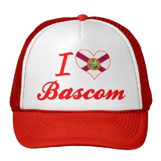 I Love Bascom, Florida Trucker Hat