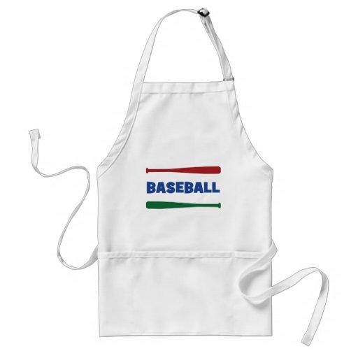 I Love Baseball Adult Apron