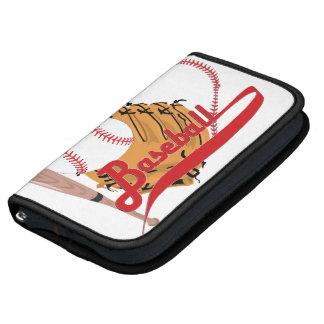 I Love Baseball - Ball, Bat, Baseball Glove Organizers