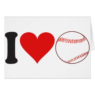 I Love Baseball * Card