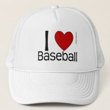 I Love Baseball - Hat