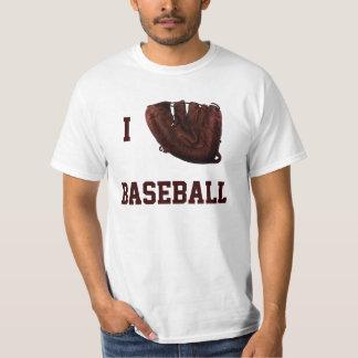 I Love Baseball, I Glove Baseball T-shirt
