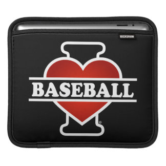 I Love Baseball Sleeves For iPads
