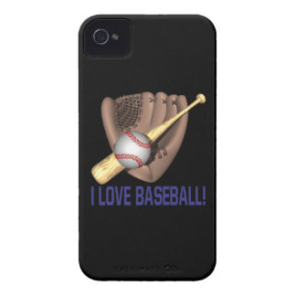 I Love Baseball iPhone 4 Cover