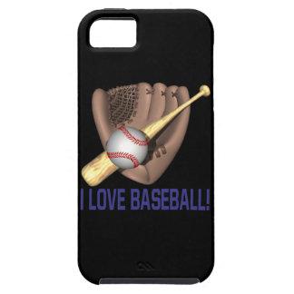 I Love Baseball iPhone SE/5/5s Case