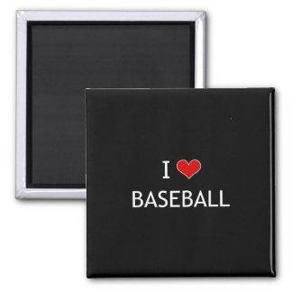 I Love Baseball Magnets
