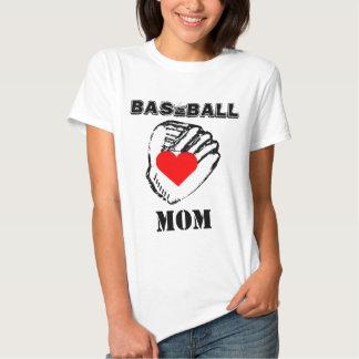 I Love Baseball Mom Shirt