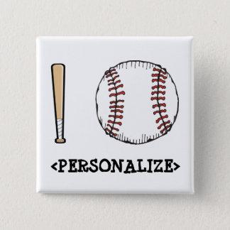 I Love (Baseball), <PERSONALIZE> Button