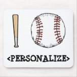 I Love (Baseball), <PERSONALIZE> Mouse Pad