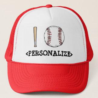 I Love (Baseball), <PERSONALIZE> Trucker Hat
