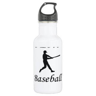 I Love Baseball 18oz Water Bottle