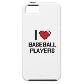 I love Baseball Players iPhone 5 Cover