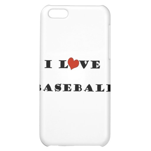 I Love Baseball.png Case For iPhone 5C