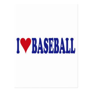 I Love Baseball Postcards