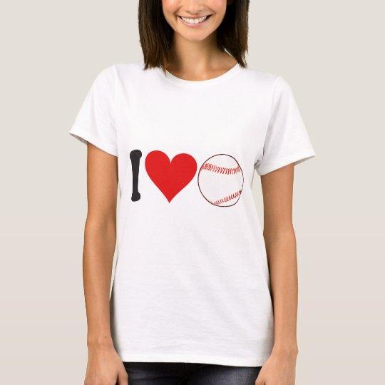 I Love Baseball * T-Shirt