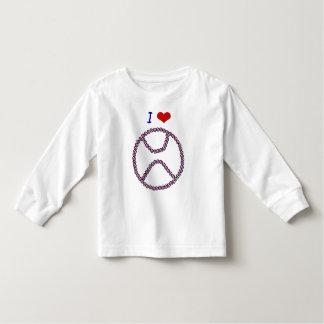 I Love Baseball Toddler T-shirt