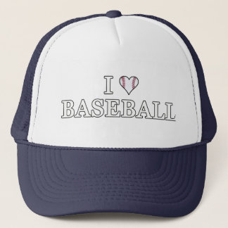 I Love Baseball Trucker Hat