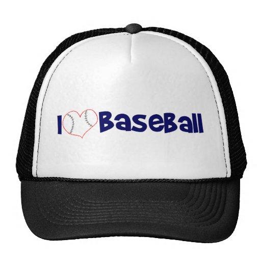 I love baseball trucker hat
