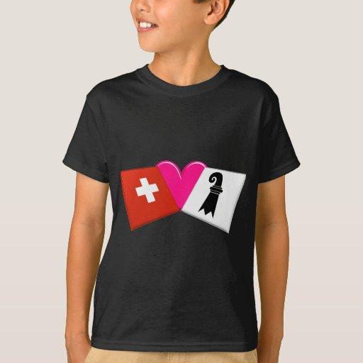 I Love Basel-Stadt T-Shirt