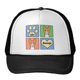 I Love Basenjis Trucker Hat