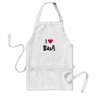 I Love Basil Adult Apron