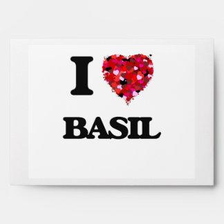 I Love Basil Envelope
