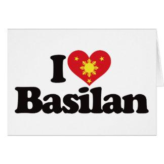 I Love Basilan Cards