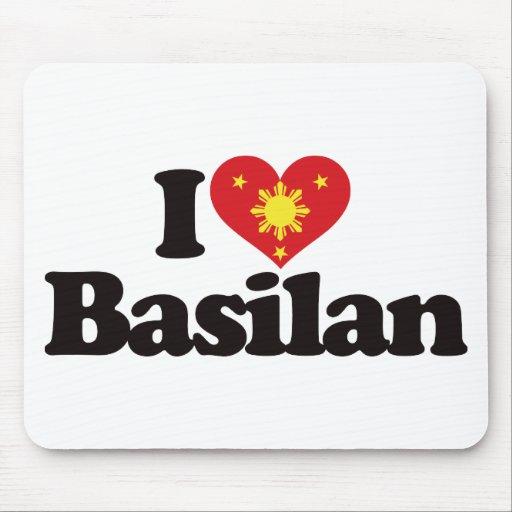 I Love Basilan Mousepads
