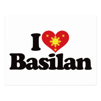 I Love Basilan Postcards