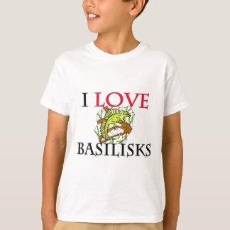 I Love Basilisks T-Shirt
