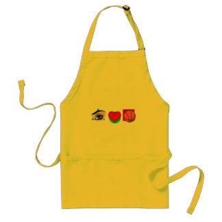 I love basket adult apron