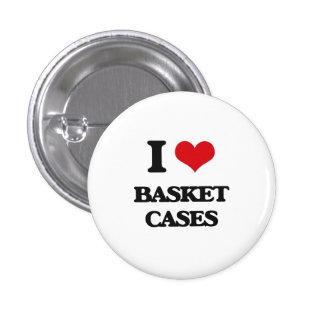 I Love Basket Cases Pinback Button