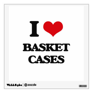 I Love Basket Cases Wall Graphics