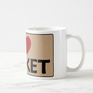 I Love Basket Coffee Mug