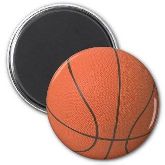 I Love Basketball 2 Inch Round Magnet