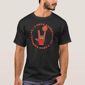 I LOVE BASKETBALL ASL SIGN T-Shirt
