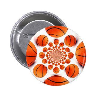 I love basketball button