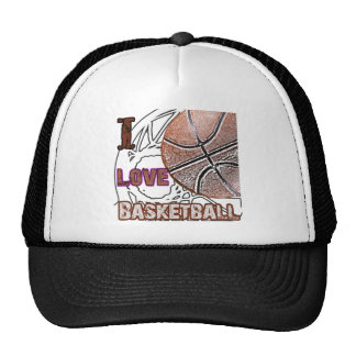 I Love Basketball Defense! Trucker Hat