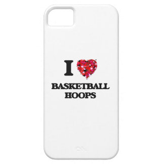I love Basketball Hoops iPhone 5 Cases