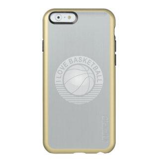 I love basketball incipio feather shine iPhone 6 case