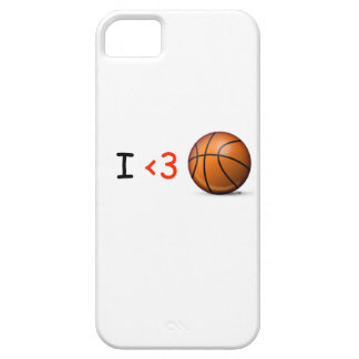 I love basketball iPhone 5 cover
