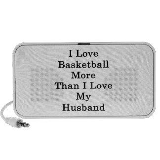 I Love Basketball More Than I Love My Husband Travel Speaker