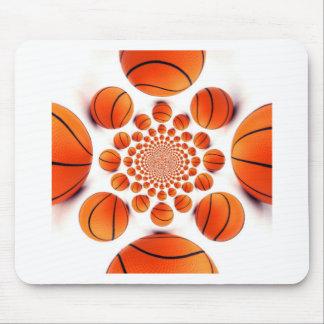 I love basketball mouse pad