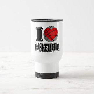 I love Basketball - Mugs